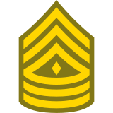 First Sergeant 1SG icon