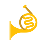 Double horn icon