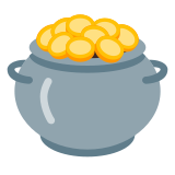 Money in a Pot icon