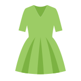 Zielona sukienka icon