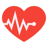 Heart with Pulse icon