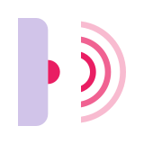 Faisceau infrarouge icon