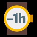 Minus 1 godzina icon