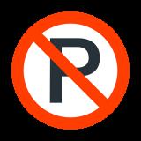 Zakaz parkowania icon
