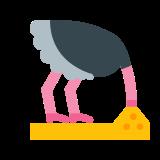 Głowa strusia w piasku icon