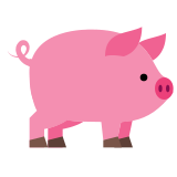 Pink Pig icon