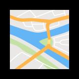 Mapa Pittsburga icon