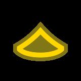 Szeregowy pierwszej klasy PFC icon