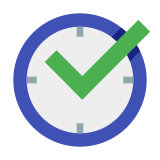 Task Completed in Time icon