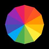 Cerchio di RGB 1 icon