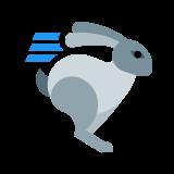 Biegnący królik icon