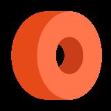 Rueda monopatín icon