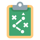 Tablero de estrategia icon