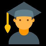 Estudiante masculino icon