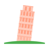 The Leaning Tower of Pisa icon