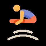 Gymnastique au trampoline icon