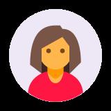 Użytkownik Kobieta w kółku icon