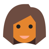 Użytkownik Kobieta Skóra Typ 5 icon