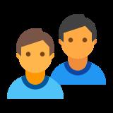 ユーザー グループの男 icon