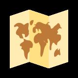Mapa świata icon