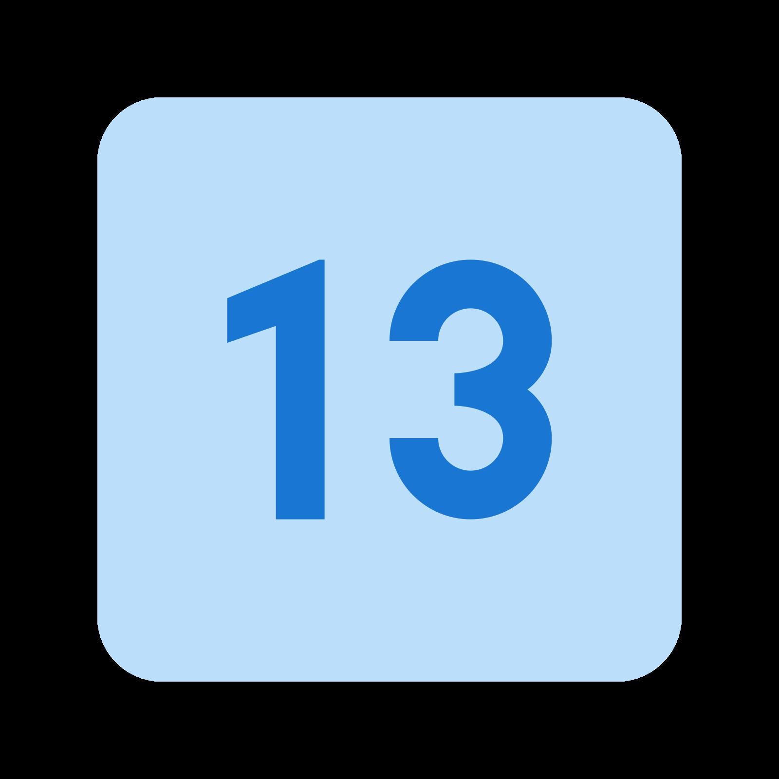 13 icon