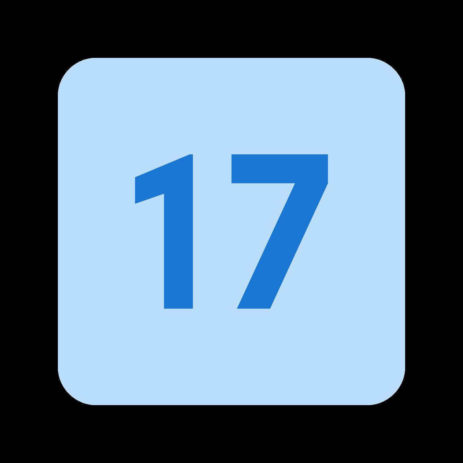 17 icon
