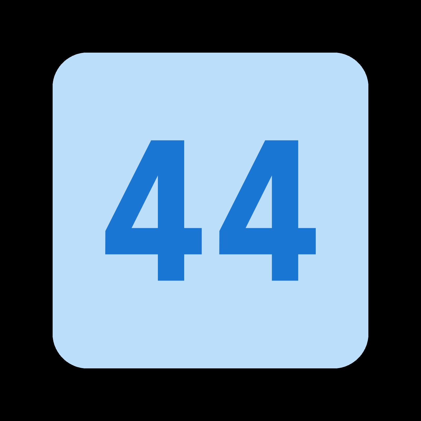 44 icon