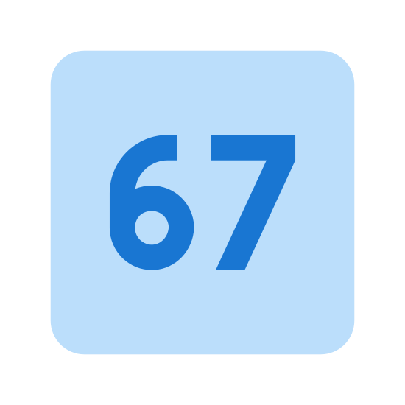 67 icon