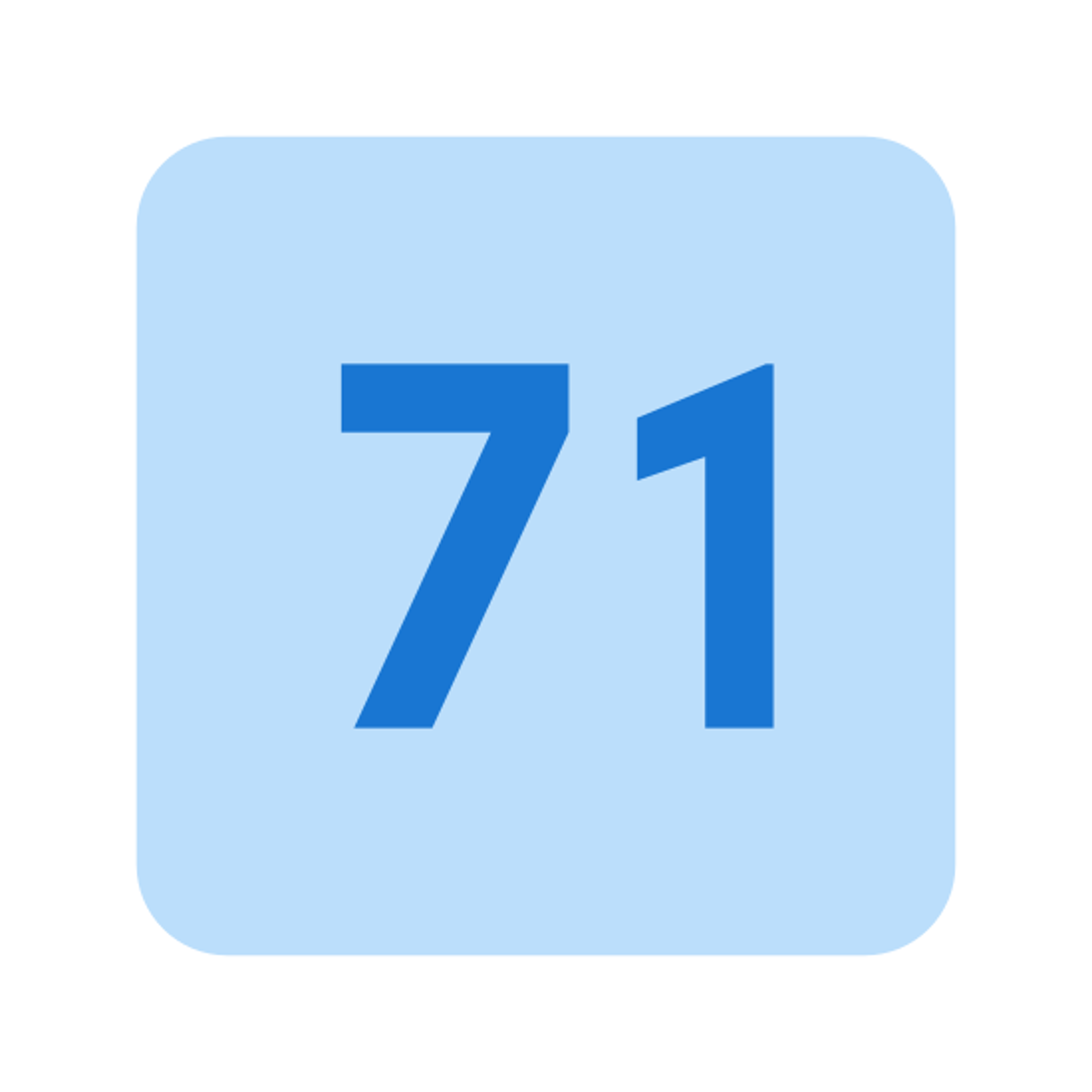71 icon