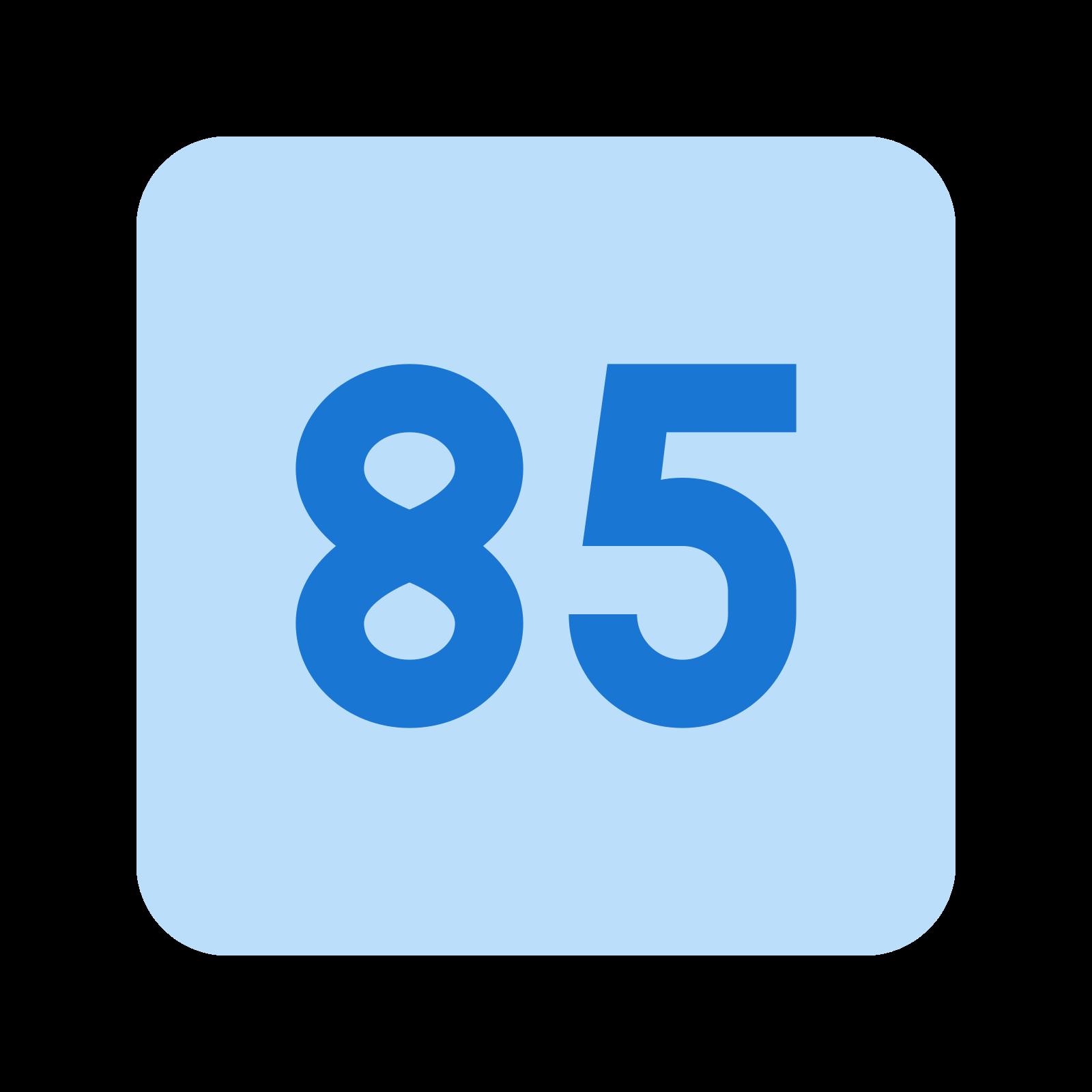 85 icon