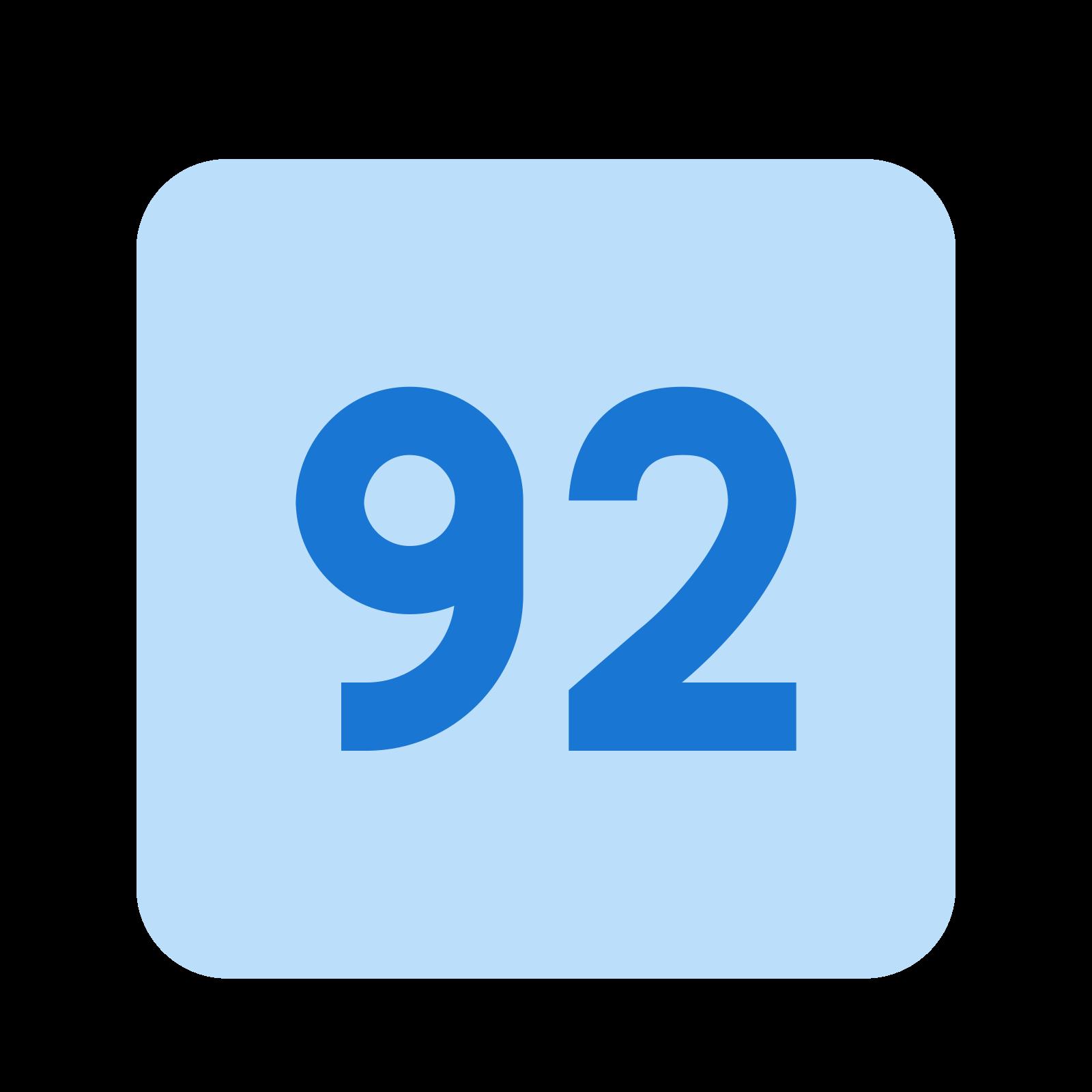 92 icon