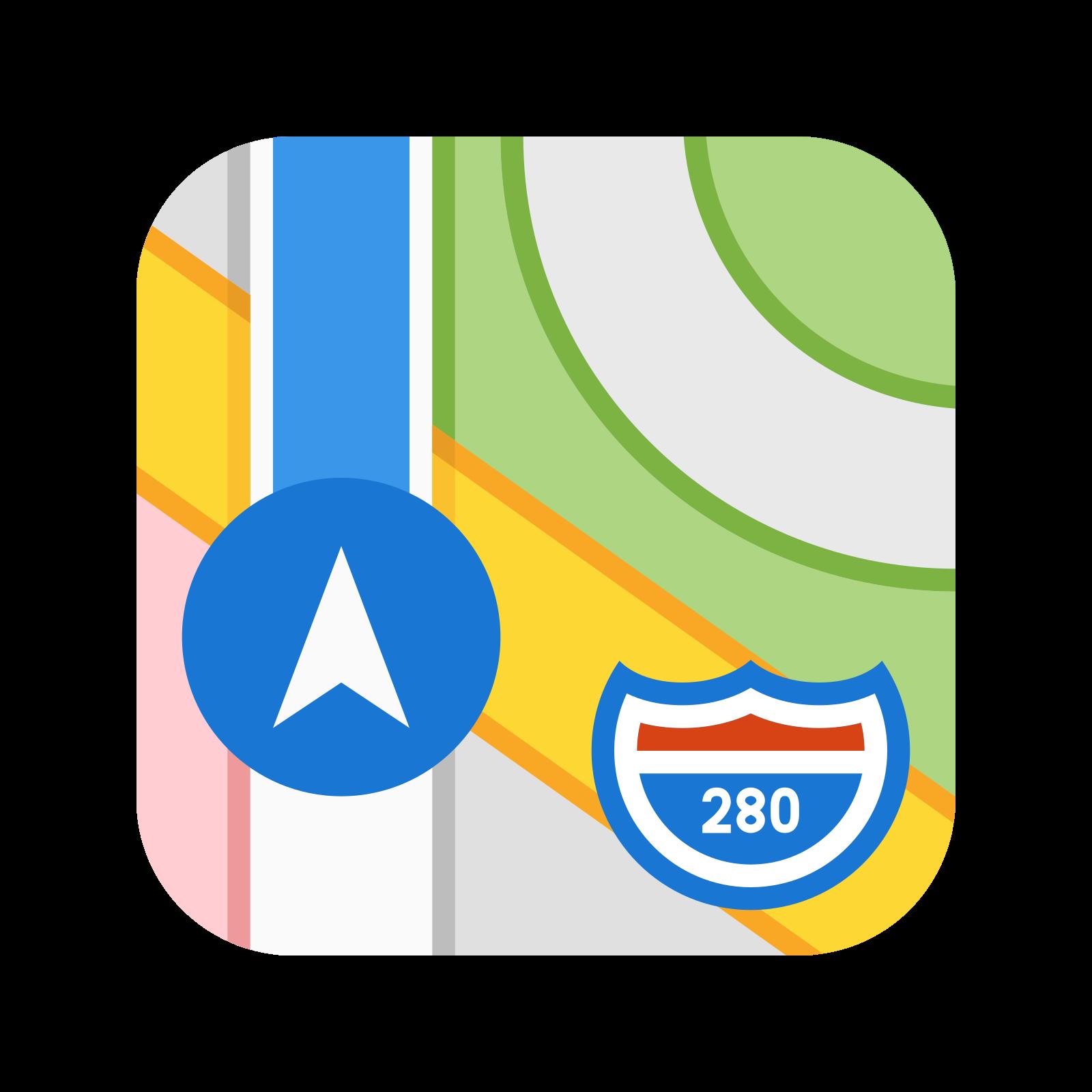 Apple Map icon
