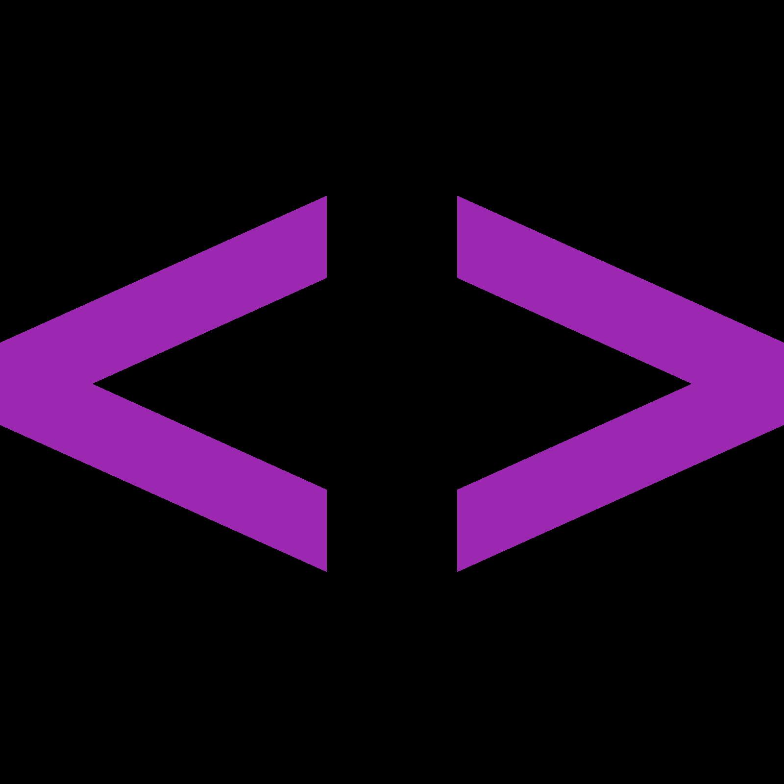 数学平均 icon. The icon looks very similar to a square that has been rotated 45 degrees in the shape of a diamond.  The square was then split from the top corner to the bottom corner and the two pieces were pulled apart.