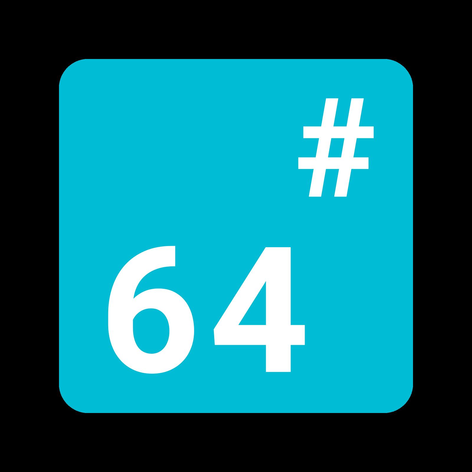 Base 64 icon
