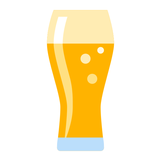 Szklanka na piwo icon. There is a vertical rectangle with curvy sides and a slightly curved inward bottom. There's an oval in the middle and a straight line separating the top tenth space of the glass shape.