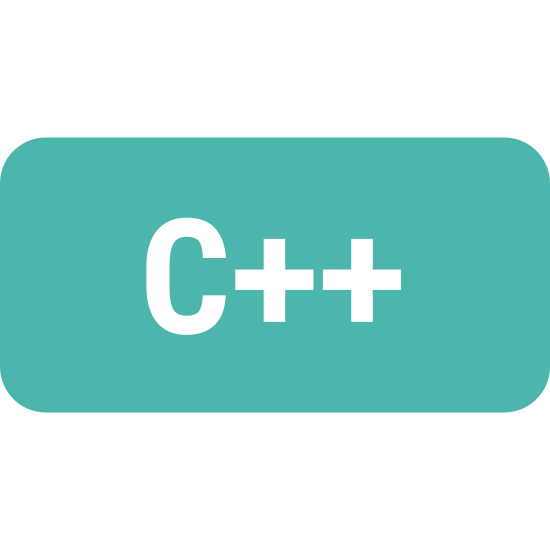 """C Plus Plus icon. This icon shows the letter """"c"""" next to two plus (or addition) signs. The purpose of the icon is to convey to the onlooker the programming language called """"c++""""."""