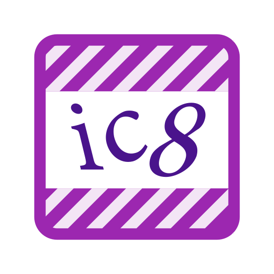 CAPTCHA icon. This icon is used a lot to verify you are not a robot.  It is a reduced rectangular box that is filled with a white background and floating letters and numbers inside it.
