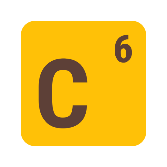 "Carbon icon. It's a logo of a square with curved edges and then inside of the square is the letter ""c"" which represents the word carbon. It's a very simple image with thin lines."