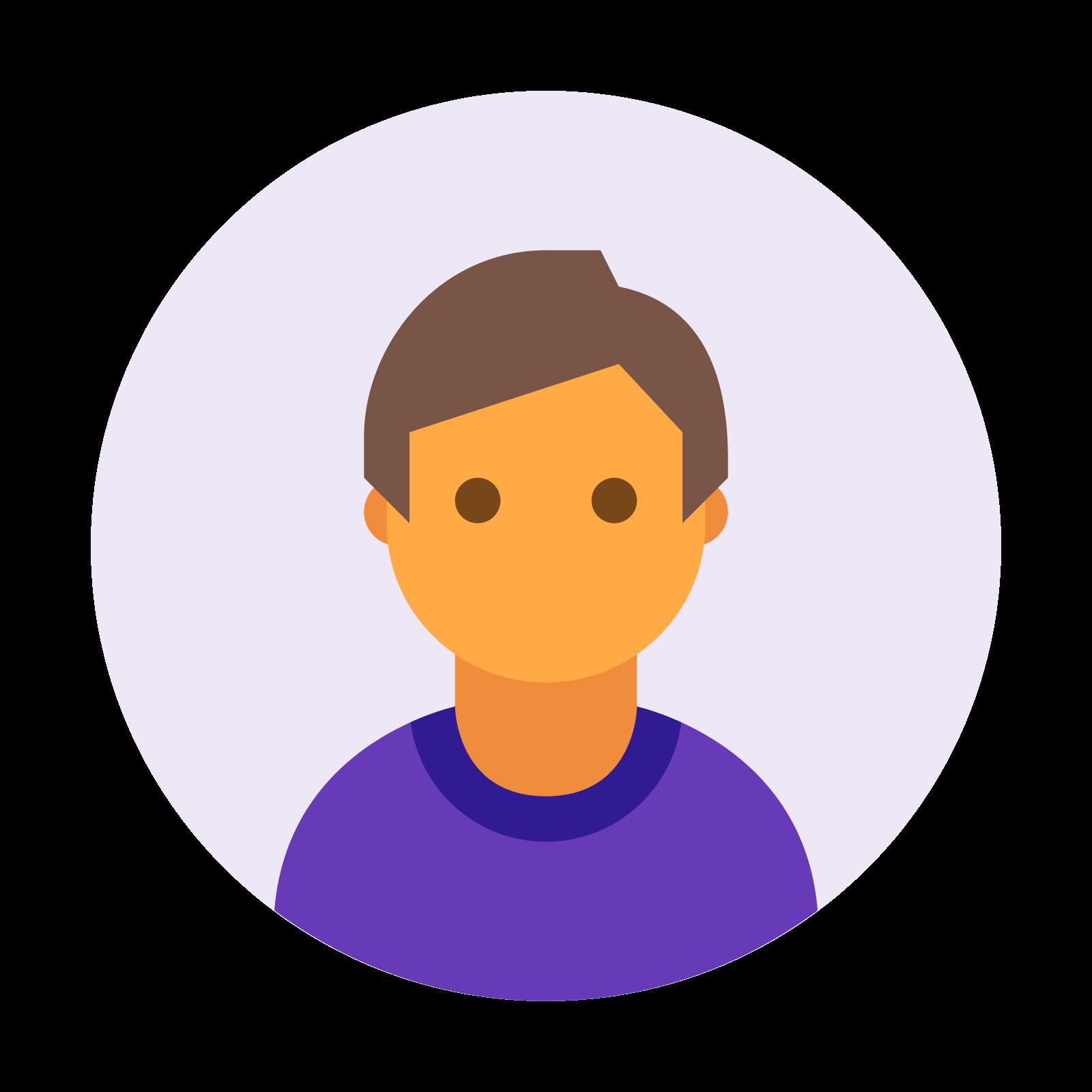 Circled User Male Skin Type 4 icon