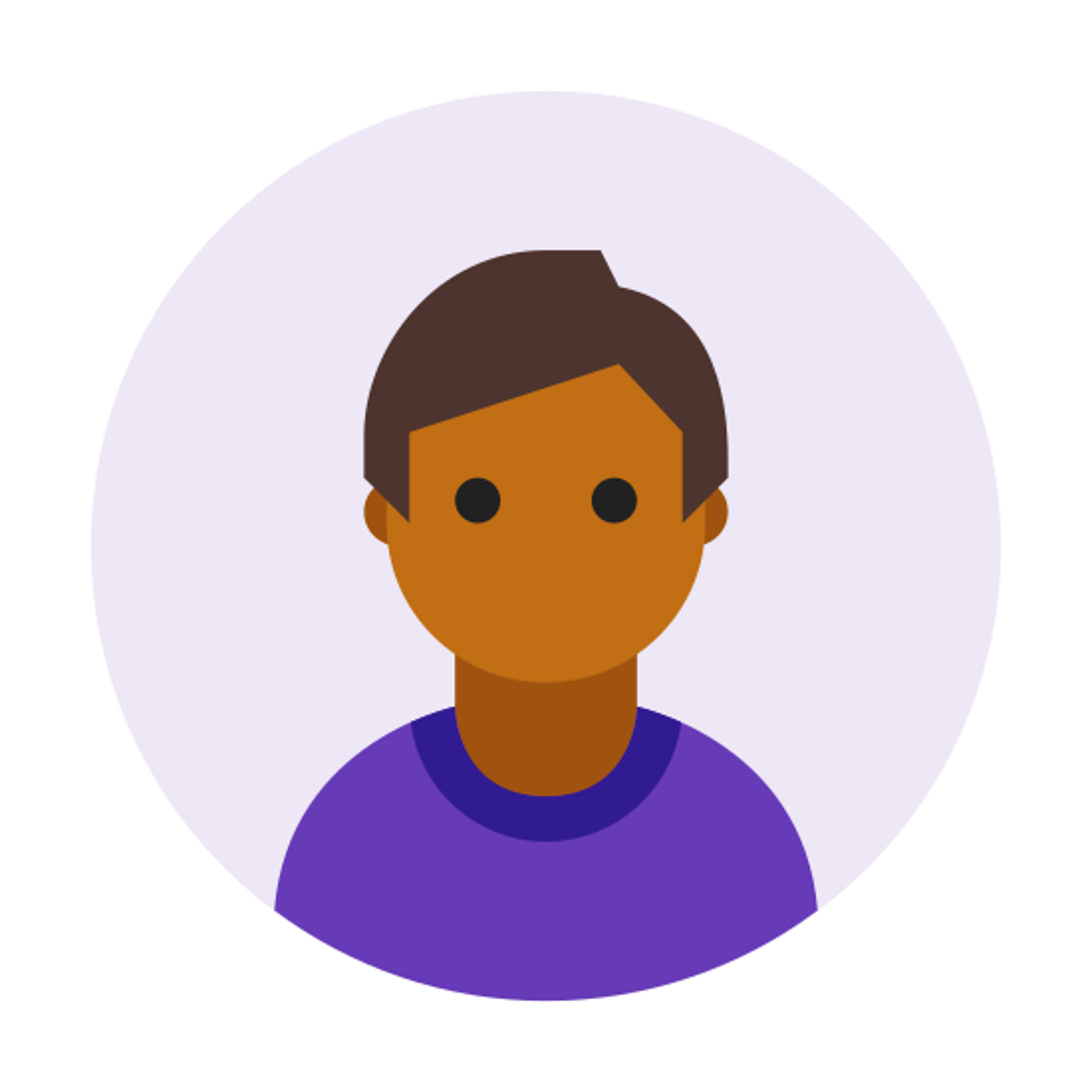 Circled User Male Skin Type 6 icon