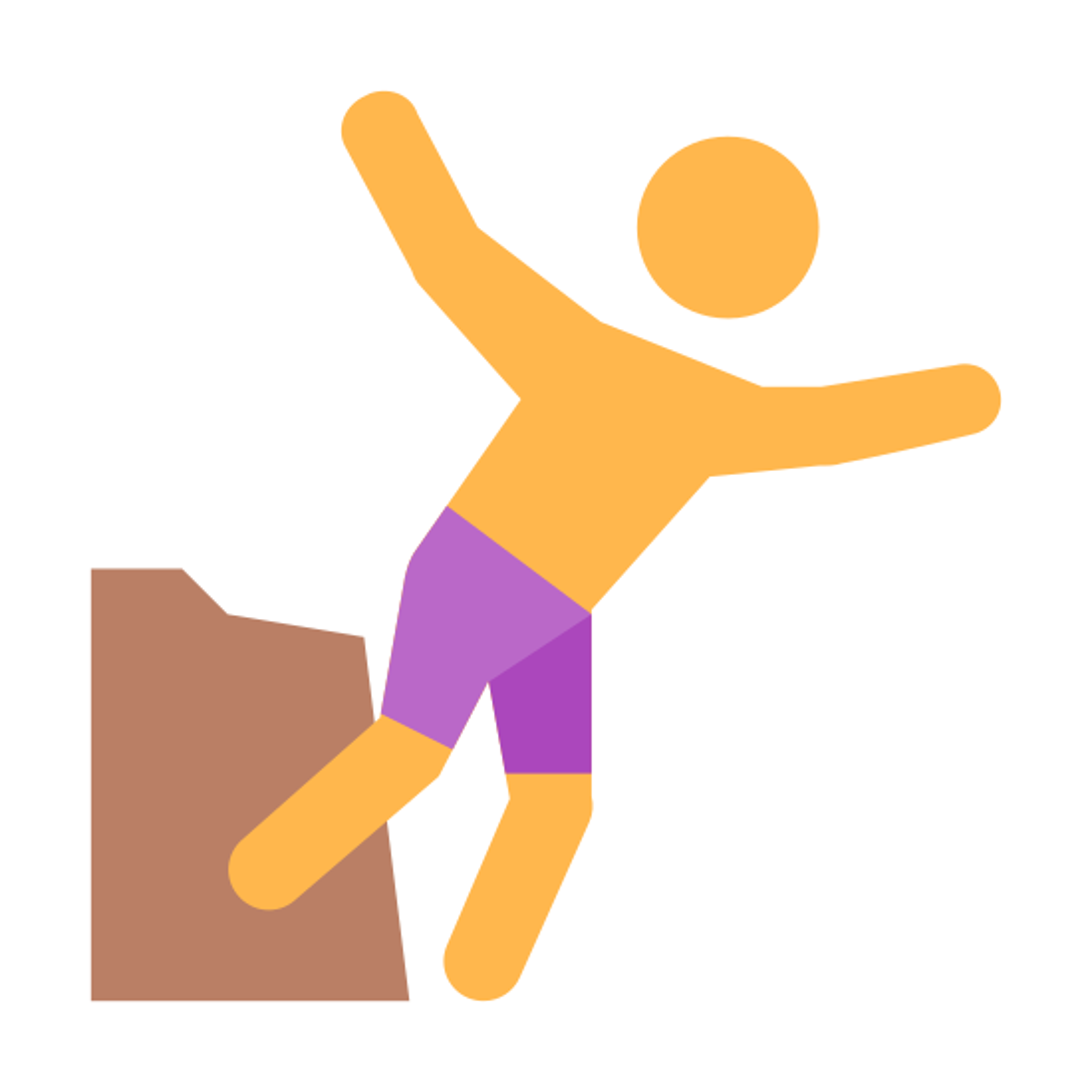 Salto de acantilado icon