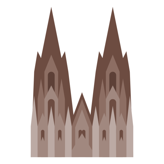Cologne Cathedral icon
