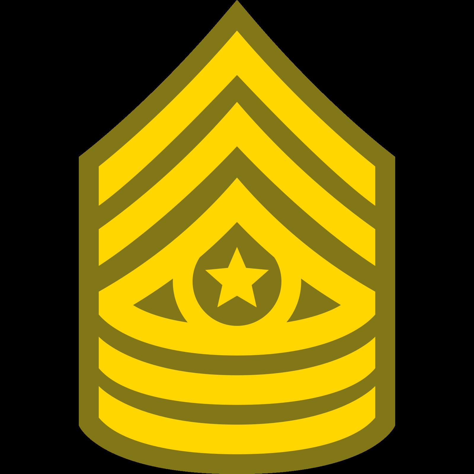 Starszy Sierżant Major CSM icon
