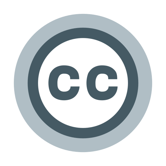 Creative Commons icon. The image is of a closed circle. Inside the circle are two letters. The letters are capitalized Cs. They are side by side but not touching each other. The Cs are also not touching any part of the circle's edge.