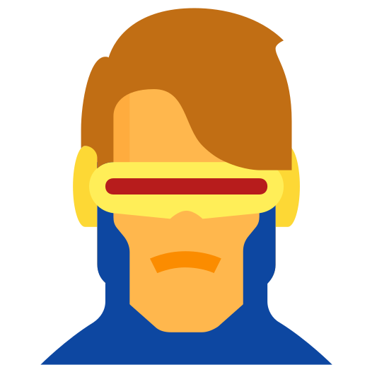Cyclops Marvel icon