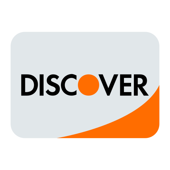 """Odkryć icon. This is a square that has rounded corners. The middle of the square has the DISCOVER card logo. The DISCOVER card logo consist of the word """"DISCOVER"""" in all capital letters, with the center of the O filled in."""