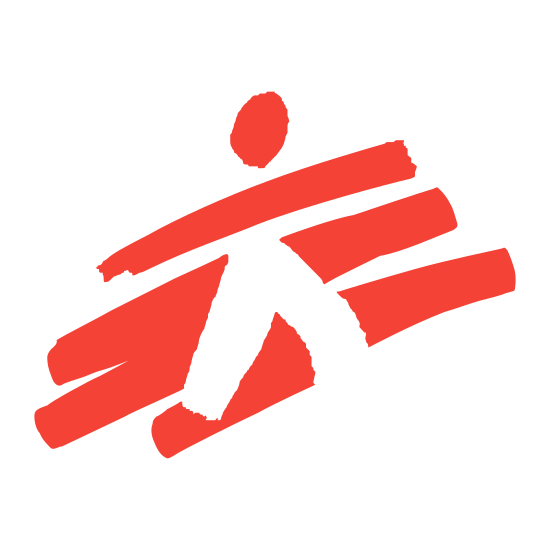 """Doctors Without Borders icon. The icon is a simplified version of the logo of the organization """"Doctors Without Borders"""", a non-profit dedicated to providing medical help to people who need it, regardless of nationality, ethnicity, nor affiliation. They often operate in war zones such as Kurdistan and Syria, risking their lives to provide care to the patients most in need."""