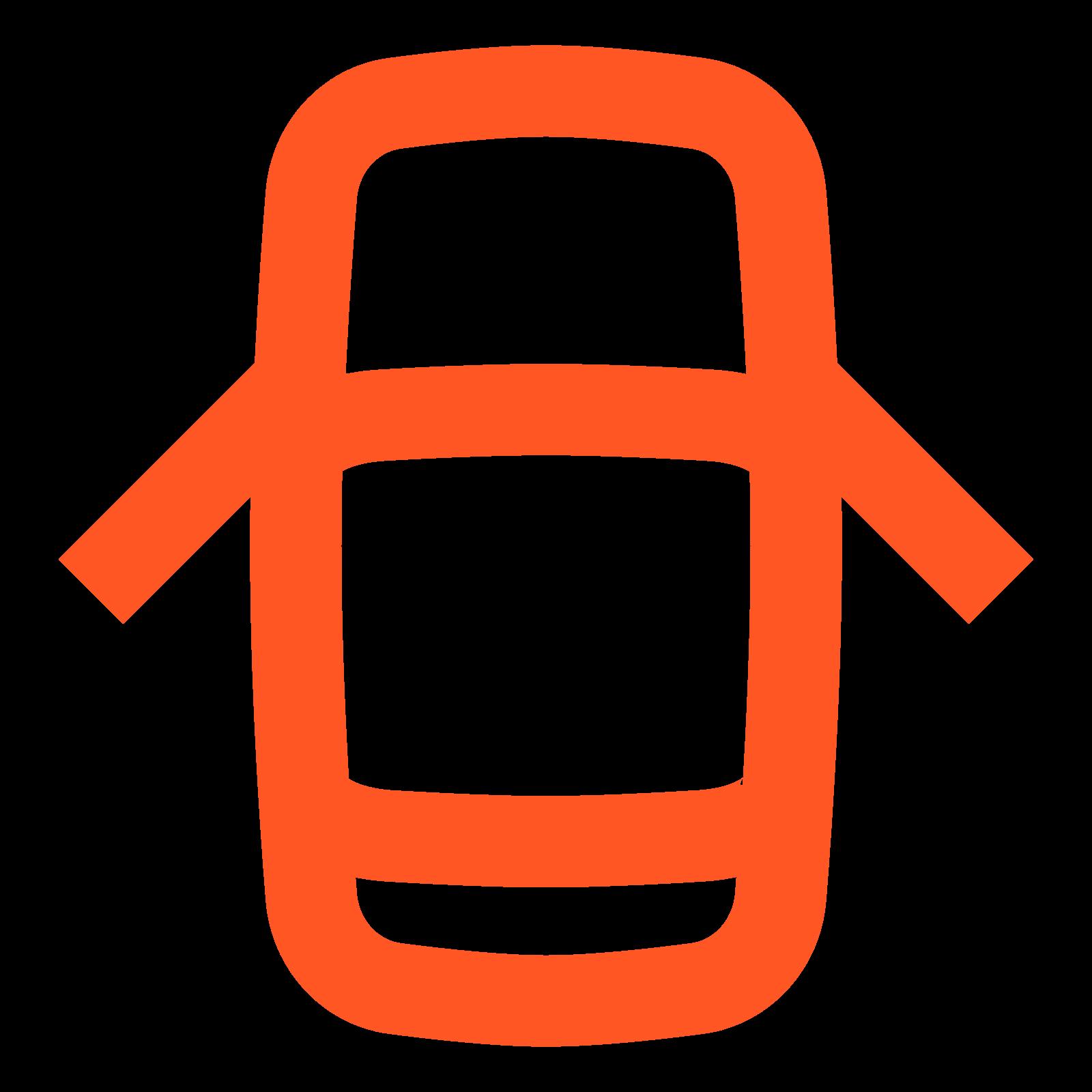 Uchylone drzwi icon