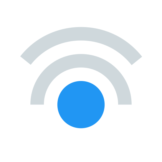 Double Tap icon. It is a circle with two waves stacked above it. The waves are curves, almost like partial circles. If it could be likened to anything, it looks sort of like the Wi-Fi symbol.