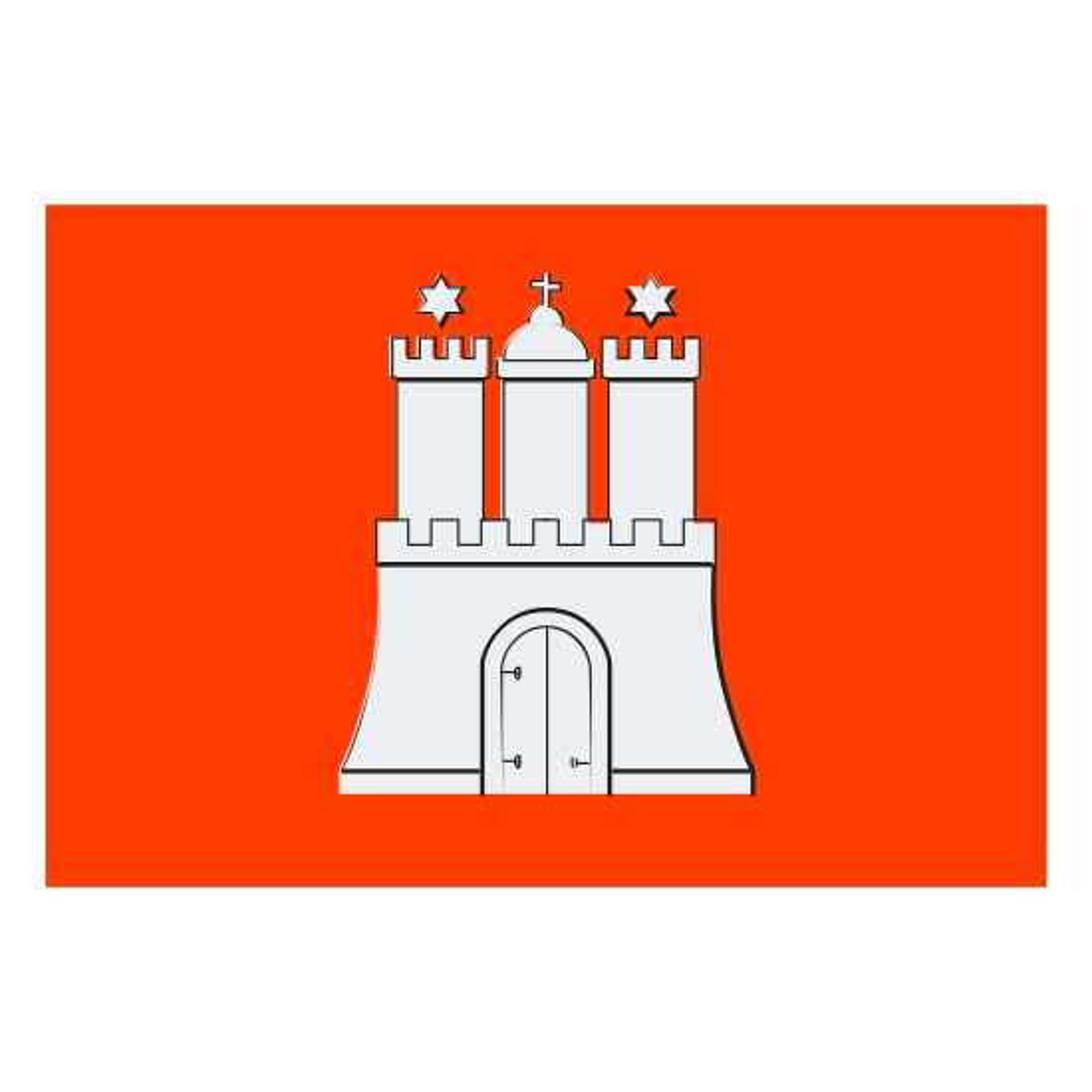 Flag of Hamburg icon